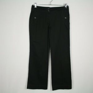 "New York & Co Casual Chino Pants Black 29"" Inseam"